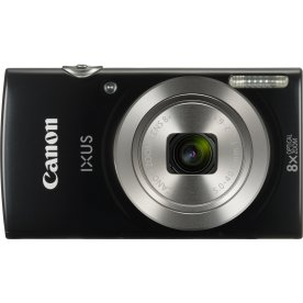 Canon IXUS 185 digitalkamera, sort