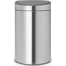 Brabantia Touch Bin 40 L, matt steel