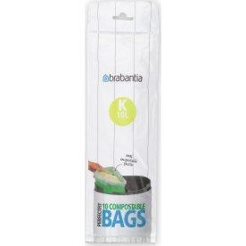 Brabantia Affaldspose K, 10 liter, 10 stk.