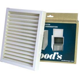 Woods SMF filter med ramme til serie DS, ED, TDR