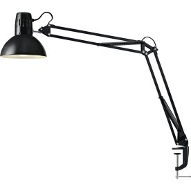 Manhatten LED Arkitektlampe, sort m/ klemme