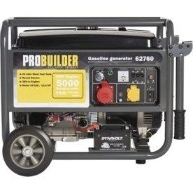 Probuilder Generator med 4-taktsmotor, 5500w