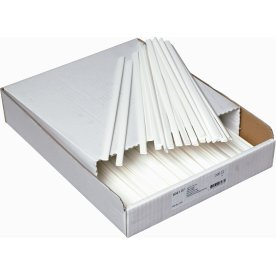Bantex Klemryg 10mm, kapacitet 3mm= 15 ark, hvid