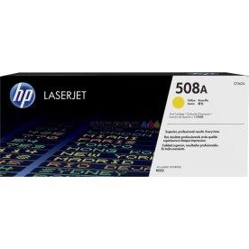 HP 508A/CF362A Lasertoner, gul, 5000s.