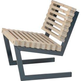 Plus Siesta Trallestol, Drivtømmer, L 80 cm