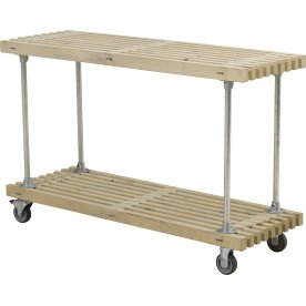 Plus Tralle Grillbord m/ 1 hylde, Drivtømmer