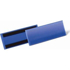 Durable Lagerlommer m/magnet, B210xH74 mm