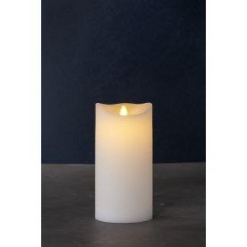 Sara Exclusive LED lys, Hvid, H 20  x Ø 10 cm