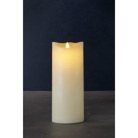 Sara Exclusive LED lys, Creme, H 25 x Ø 10 cm