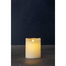 Sara Exclusive LED lys, Creme, H 12,5 x Ø 10 cm