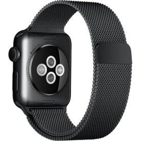 Apple urrem, Sort Milanese Loop, 38mm