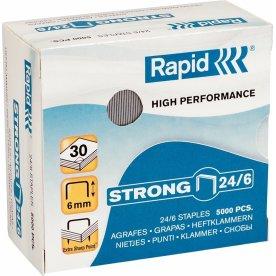 Rapid Strong 24/6 Hæfteklammer, 5000 stk.