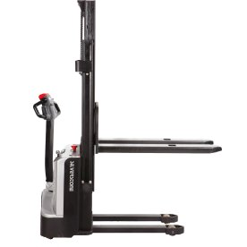 Fuld-elektrisk gåstabler, 3600 mm, 1000 kg