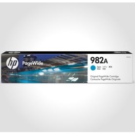 HP 982A PageWide blækpatron, cyan, 8.000s