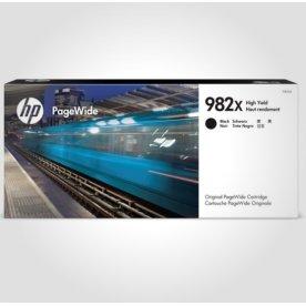 HP 982X XL PageWide blækpatron, sort, 20.000s