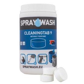 SprayWash Rengøringstablet, dag. 9 u. duft, 14 stk