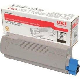 OKI 46471104 lasertoner, sort, 7000s