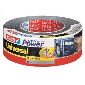 tesa Extra Power Lærredstape, 50 mm, grå