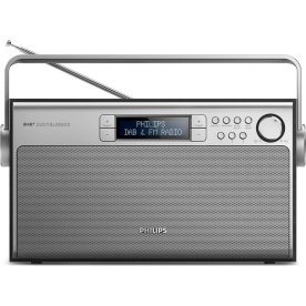 Philips AE5220 DAB+/FM radio, sort