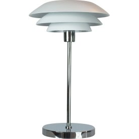 DL31 Bordlampe, Mat hvid, H 50 cm