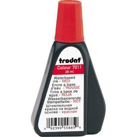 Gummistempelfarve 25g, rød, Trodat 7011