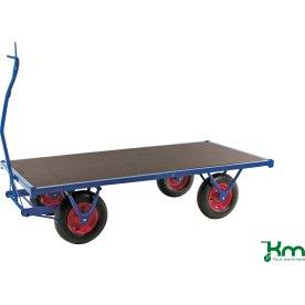 Lagervogn med 1 hylde - 1500 kg