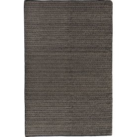 Wilma tæppe, 170x240 cm., sort