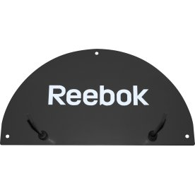 Reebok Studio wall mat rack, sort