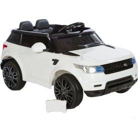 El-drevet Azeno Rapid Racer minibil, 12V, hvid