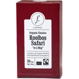 Fredsted Organic Classics Rooibos Te, 20 breve