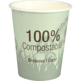 Komposterbart Kaffebæger, 24 cl, ass. farver