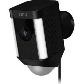 Ring Cam, hardwired, black