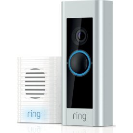 Ring kamera Doorbell Pro inkl. chime+strømadapter