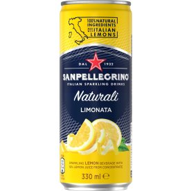 San Pellegrino m/citron 0,33l inkl. pant