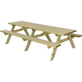 Plus bord-bænkesæt, trykimprægneret