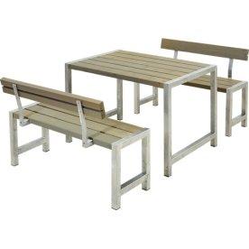 Plus Cafe Plankesæt L. 127, Gråbrun