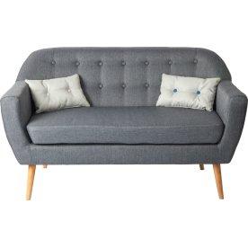 Silas 2 pers. sofa, grå