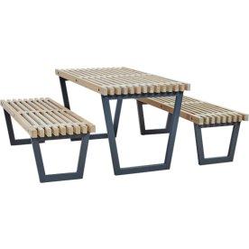 Plus Siesta møbelsæt, L 138 cm, Drivtømmer