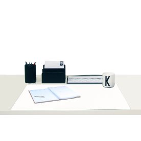 Mayland Skriveunderlag Kunstskind, 60x43 cm, hvid