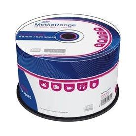 MediaRange CD-R 700MB/80min 52x spindel, 50 stk