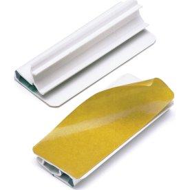 Durable Varioclip Papirklemme m. klæb bags., 5 stk