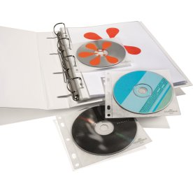 Durable CD-lomme, 10 stk.