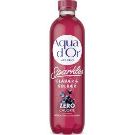 Aqua D'or Sparkles Blåbær & solbær, 0,5 l