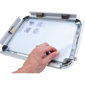 Frontplade 50x70 cm u/magnet