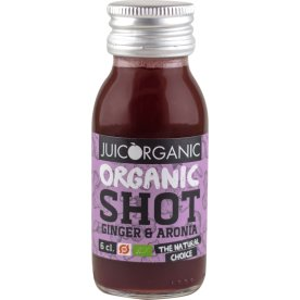 JuiceOrganic Ginger & Aronia shot, 6 cl.