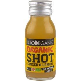 JuiceOrganic Ginger & Lemon shot, 6 cl.