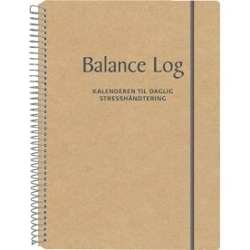Mayland Balance Logbog, 17 x 24,5 cm