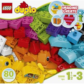 LEGO DUPLO 10848 Mine første klodser, 1½-3 år