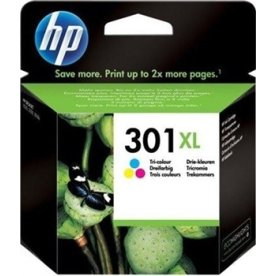 HP No301XL blækpatron, blister, tri-farve