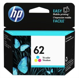 HP No62 blækpatron, blister, farve, 165s